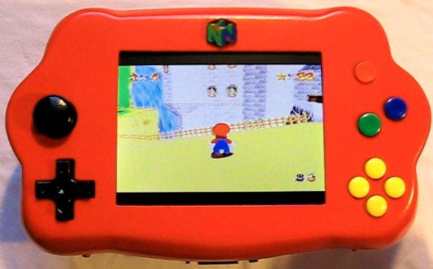 Hacker cria Nintendo 64 portátil Into64-pic