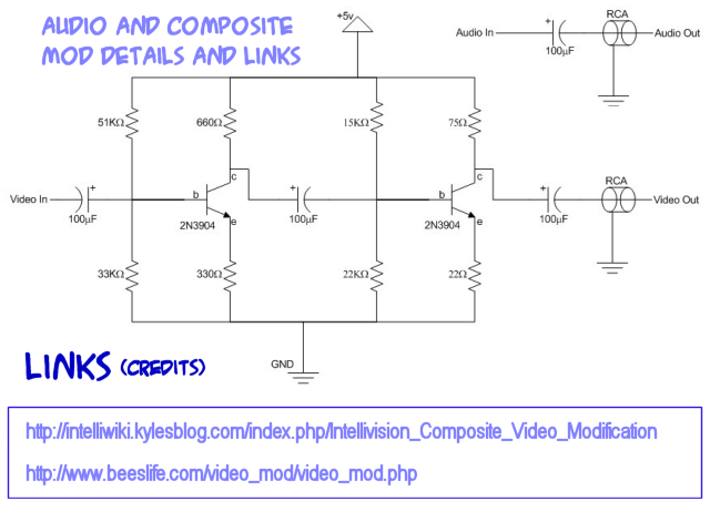 Intellivision Controller Schematic on wiring diagram for atari 7800